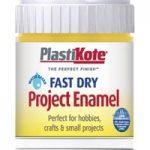 Plastikote 440.0000012.067 FastDry Enamel Paint B12 Bottle Butterc…