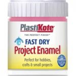 Plastikote 440.0000014.067 Fast Dry Enamel Paint B14 Bottle Hot Pi…
