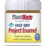 Plastikote 440.0000017.067 Fast Dry Enamel Paint B17 Bottle Nut Br…