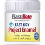 Plastikote 440.0000030.067 FastDry Enamel Paint B30 Bottle Silver …