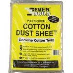 Everbuild Cotton Dust Sheet 3.6 x 2.7m