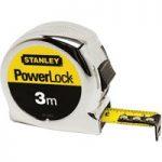Stanley 0-33-522 Powerlock Classic Tape 3m (Width 19mm)