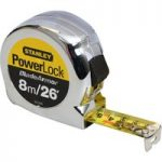 Stanley 0-33-526 Powerlock Rule Blade Armor 8m / 26ft (Width 25mm)