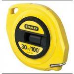 Stanley 0-34-107 Closed Case Steel Tape 30m / 100ft (Width 9.5mm)