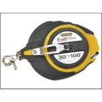 Stanley 0-34-132 FatMax Long Tape 30m/100ft (Width 9.5mm)