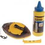 Stanley 0-47-465 Power Winder Chalk Line 30 Metre , Chalk & Level