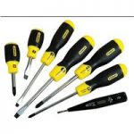 Stanley 0-65-009 Cushion Grip Screwdriver Flared/Phillips Set 6 + …