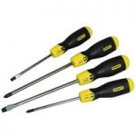 Stanley 0-65-013 Cushion Grip Screwdriver Set Par/Flared /Phillips…