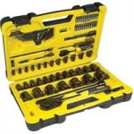 Stanley STHT0-72655 Tech 3 Socket Set of 78 1/4in & 1/2in Drive