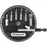 Stanley 1-68-735 Insert Bit Set Phillips/Slotted 7 Piece