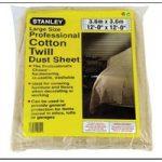 Stanley STASGCTQ Cotton Twill Dust Sheet 3.6 x 2.7m