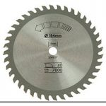 Black+Decker X13025 Circular Saw Blade 184 x 16mm x 40T Fine Cross Cut
