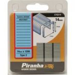 Black+Decker X70214 Flat Wire Staples 14mm Pack 1200