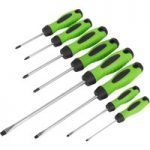 Sealey HV001 Screwdriver Set 8pc Hi-Vis