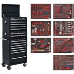 Sealey TBTPCOMBO2 Tool Chest Combi 14 Drawer – BB Runners – Blk & …