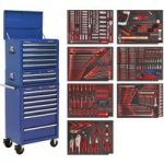 Sealey TBTPCOMBO5 Tool Chest Combi 14 Drawer – BB Runners – Ble & …