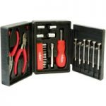 Rolson 36039 26pc Mini Tri Fold Tool Kit