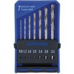 Dremel 2615062832 628 Precision Drill Bit Set – 7 Piece