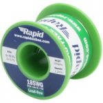 Rapid Lead-Free Solder Wire 18SWG 1.2mm 100g Reel