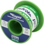 Rapid Lead-Free Solder Wire 22SWG 0.7mm 100g Reel