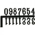 Trumotion Clock Numerals Set – Black
