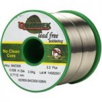 Qualitek Lead Free Solder Wire SAC305 NC600 Flux 2.2% 0.71mm 500g Reel