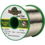 Qualitek Lead Free Solder Wire SAC305 NC600 Flux 2.2% 0.51mm 500g Reel