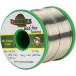 Qualitek Solder Wire SAC305 NC601 Rosin Free No Clean Flux 2.2% 1….