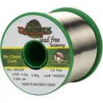 Qualitek Solder Wire SAC305 NC601 Rosin Free No Clean Flux 2.2% 0….