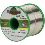 Qualitek Lead Free Solder Wire Sn100e NC600 Flux 2.2% 1.27mm 500g Reel