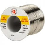 Qualitek Solder Wire 60/40 NC601E Rosin Free No Clean Flux 1.1% 1….