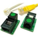 Peak RJA11 Pair of RJ11-RJ45 socket adapters