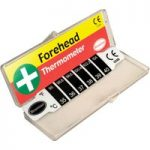 Brannan Reusable Forehead Thermometer in Plastic Storage Box