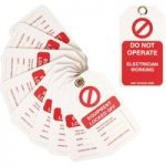 Martindale MARTAG4 Lock Out Kit Replacement Tags