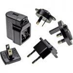PowerPax UK SW4149-E 5V DC 1A USB Power Supply with UK EU US AU Pins