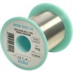 Weller T0051388499 WSW SAC L0 96.5/3/0.5 Solder Wire 0.5mm 100g