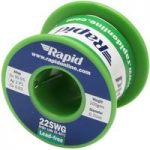 Rapid Premium Lead-Free Solder Wire 22SWG 0.7mm 100g Reel