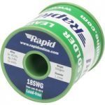 Rapid Premium Lead-Free Solder 18SWG 1.2mm 0.5kg Reel