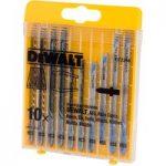 DeWalt DT2294 Wood/Metal Cutting Jigsaw Blade Set 10pc