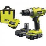 Ryobi 5133001955 LLCDI18022 ONE+ 18V Combi Hammer Drill 18V 2 x 1….