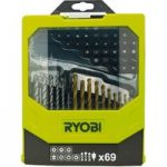 Ryobi 5132002687 RAK69MIX Mixed Screwdriver Set of 69
