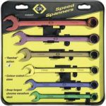 CK Tools T4345/6ST Speed Spanners Set Of 6