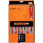 Bahco B219.007 BahcoFit Screwdriver Set PZ/TORX – 7 Piece