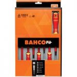 Bahco B219.017 BahcoFit Screwdriver Set Slot/PH – 7 Piece