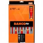 Bahco B220.017 BahcoFit Insulated VDE Screwdriver Set Slot/PZ – 7 …