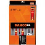 Bahco B220.027 BahcoFit Insulated VDE Screwdriver Set Slot/PH – 7 …