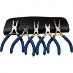 Model Craft PPL6000 5pce Mini Plier Set + Zip-Up Case