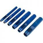 Draper 25993 Hollow Punch Set 3/16″ – 1/2″ 6 Piece