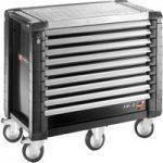 Facom JET.9GM5 Jet+ 9 Drawer Roller Cabinet – 5 Modules Per Drawer…
