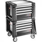 Facom JET.CR4GM3 Jet+ 4 Drawer Roller Cabinets – 3 Modules Per Dra…